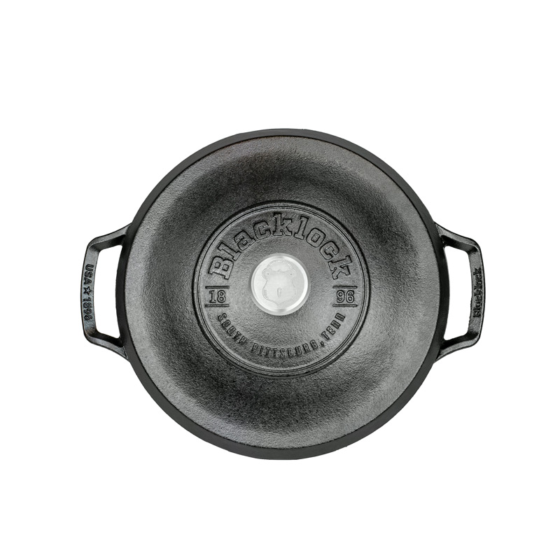 Blacklock Dutch Oven Lodge Cast Iron