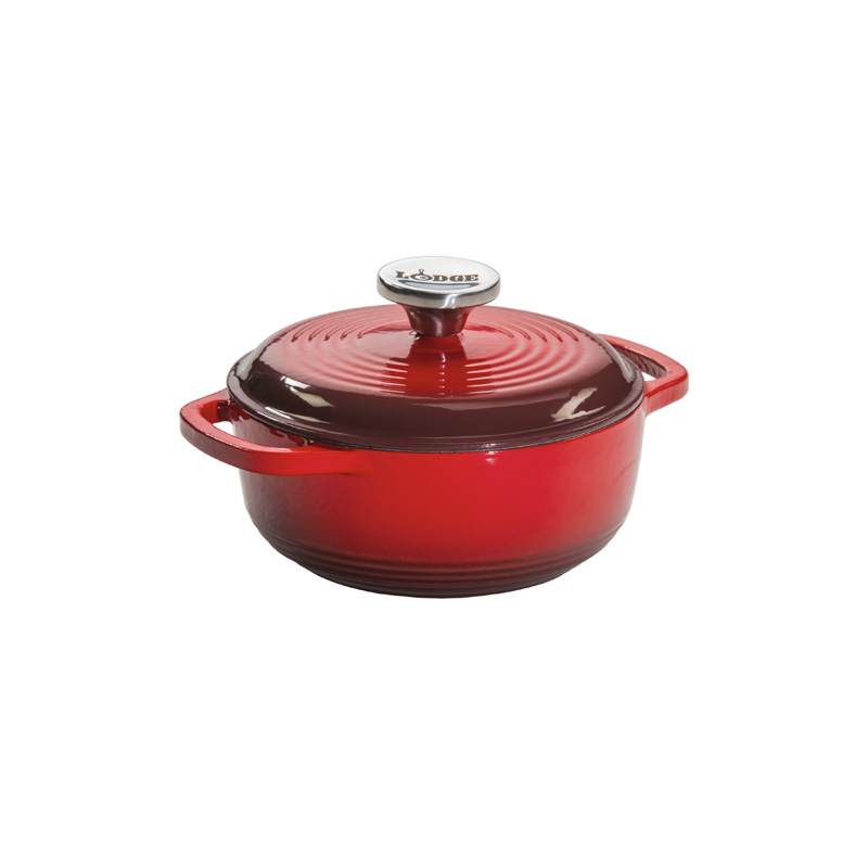 Enameled Dutch Oven Lodge Cast Iron