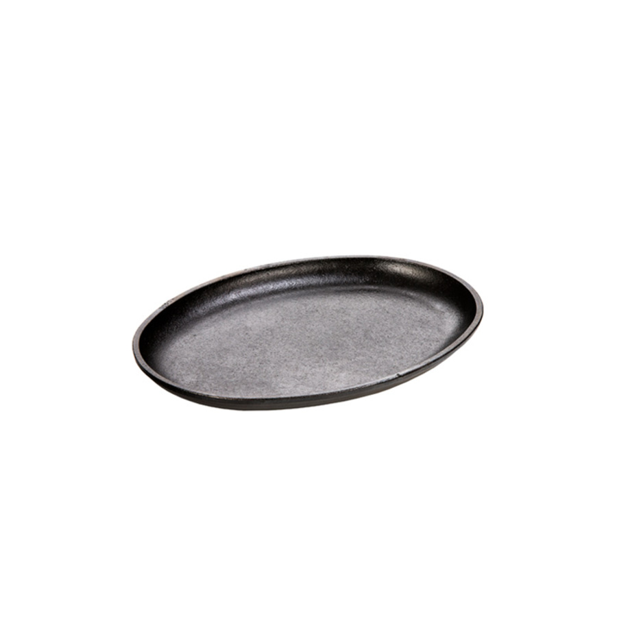 Lodge Logic 10 Handless Oval Serving Griddle