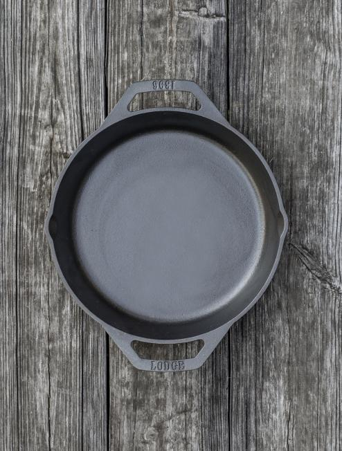 8 Inch Cast Iron Dual Handle Pan